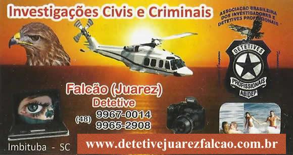 Falcão (Juarez) - Detetive